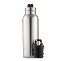 Wholesale Cold Bottles - 2017 Stainless Steel Beer Bottle cooler 12OZ bottle koozie Beer keeper Tools koozie Keep Cold with Bottle Openers car cups