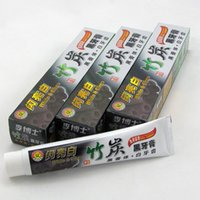 Wholesale Teeth Whitening Sale - 100g Charcoal Toothpaste Whitening Black Tooth Paste Bamboo Charcoal Toothpaste Oral Hygiene Product High Quality Hot Sale