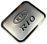 Wholesale Free Kia Rio - Wholesale- Hot sale! free shipping ABS car tank cover car accessories for KIA RIO K2 K3 K4 K5