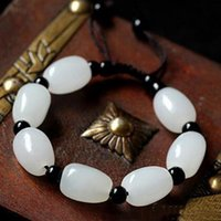 2017 nouveau Natural Afghan white jade Hand catenary Chain wholesale Made in China Factory vente directe livraison gratuite