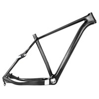 Wholesale 29er Full Frame - Full carbon 29er MTB frame 135mm QR or 142mm axle though rear spacing of mountain bicycle carbon frame