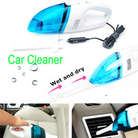 Wholesale Portable car vacuum cleaner wet and dry dual use with power W V superabsorb car waste