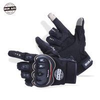 Wholesale Gants Glove - Wholesale- Motorcycle Gloves Racing Touch Screen Breathable Wearable Gloves Guantes Luvas Alpine Motocross Stars Gants Moto Men Women Motor