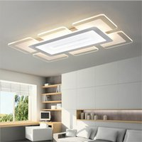 Wholesale Lamparas Techo Led - 110 220v Sky City Ultra-thin Transparent Led Ceiling Light Lamparas De Techo Colgante Lustre Avize Home acrylic Ceiling Lighting Lustres
