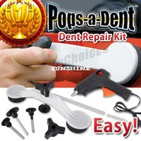 Wholesale DIY Pops A Dent Ding Car Auto Damage Repair Panel Bodywork Puller Tool Kit
