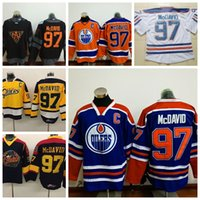Ice Hockey black otter - 2016 World Cup North America WCH Ice Hockey Connor McDavid Edmonton Oiler Jersey Stitched Erie Otters Connor McDavid College Jerseys