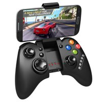 Wholesale ios gaming controller online - iPega PG Wireless Bluetooth Game Gaming PC Controller Joystick Gamepad for Android iOS MTK cell phone Tablet PC TV BOX