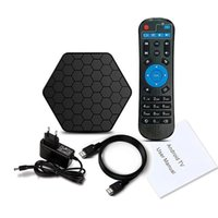 T95Z Plus Android 4K TV Box 2G 16G Amlogic S912 Octa Core 3D 2.4G 5G WiFi HDMI kdplayer 17.1 Lettore multimediale HD 4K 1080P pre caricato