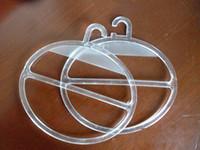 gebrauchte seide großhandel-Schalhaken Transparent Kristall Kunststoff Rückseite Seidenschal Durable Reusable PP Kostengünstige Wearable Hooks Breites Einsatzspektrum 0 4jl J