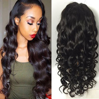 Wholesale cheap indian lace front wigs - Brazilian Hair Wigs For Black Women Cheap Glueless Full Lace Wig Natural Hairline Lace Front Human Hair Wigs With Baby Hair