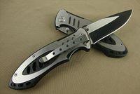 boker katlanır kamp bıçakları toptan satış-Boker 609BS taktik katlanır bıçak (çelik karakter) 440C 56HRC açık survival kamp avcılık vahşi hediye bıçak 1 adet ücretsiz kargo