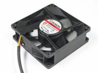 fãs sunon venda por atacado-SUNON ME80251VX-0000-G99 DC 12 V 1.9 W 3-fio conector de 3-Pinos 50mm 80x80x25mm Servidor Quadrado Ventilador de refrigeração