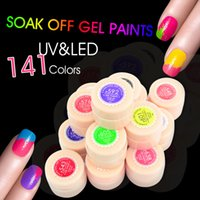 Wholesale High Reputation - Wholesale- #50618 CANNI UV LED Painting Gel 2016 High Reputation Nail Art Salon Products 5ml Nail Paint Gel Lacquer Color #501-#641
