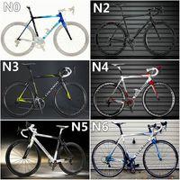 Wholesale Cheap Road Frame Bikes - Good & Cheap C59's carbon complete bike with T1100 3K C59's road bike carbon Frames 50mm carbon road bike Wheels
