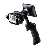 """Wholesale Build Lcd Monitor - DHL Original WenPod GP1+ Adventure Camera Stabilizer Handheld Gimbal with 3.5"""" LCD Built-in Monitor for GoPro Hero 3 3+ 4 Action Cameras"""