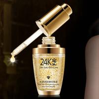Wholesale Gold Cream For Face - BIOAQUA 24K Gold Face Cream Whiten Moisturizing 24 K Gold Day Cream Hydrating 24K Gold Essence Serum For Women Face Skin Care