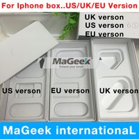 Wholesale Send Uk - 50pcs lot high Quality US EU UK Version Phone Pack Packaging Box Case For iPhone 7 6 6s 6s plus i5 5s se no Accessories DHL send
