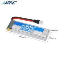 Wholesale rc helicopter spare parts battery resale online - 3 v mah Original Lipo Batteries With Rc Helicopter Drone Spare Part bacteria E50 Jjrc H37 H31 Waterproof Drone Original Li Battery DHL