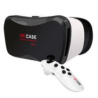 Wholesale Binocular Case - Wholesale- Vr Case 5 Plus Vr Glasses Virtual Reality 3d Glasses Binocular Cheap Virtual Glasses Screen Video Goggles Wearable Devices