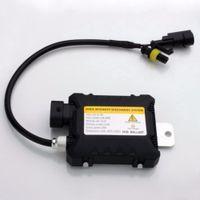 h1 xenon gizli dönüştürme kiti toptan satış-İnce HID araba 35 W Xenon Dijital Dönüşüm Balast Kiti H1 H3 H3C H4-1 H4-2 H7 H8