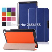 Atacado - Ultra Slim Folio Tri-Folding Stand Couro Case Skin Shell Cover para Amazon Kindle Fire HD6 2014 PW98VM 6