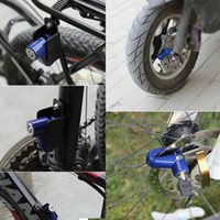 Wholesale bike disk rotor resale online - Hot Selling Anti theft Disk Disc Brake Rotor Lock For Scooter hoverboard Bike Bicycle Motorcycle Safety