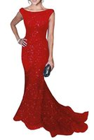 Wholesale More Dresses Evening - 2017 New Bling Bling Mermaid Sequined Long Formal Evening Dresses More Then 10 colors Sexy Prom Gown