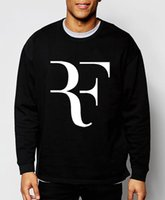 Wholesale autumn winter fashion Roger Federer RF men sweatshirts streetwear hip hop hoodies tracksuit sportswear brand clothing