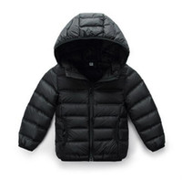 Wholesale Baby Geese - Baby down jacket boys and girls baby winter children's clothing children's jacket 0-1-2-3-year-old light and light models