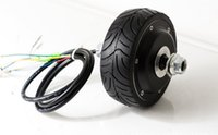 bldc electric motor - 4inches BLDC hub motor with tyre hall sensor and EABS function enable for electric scooter bike motorycle front or rear driven
