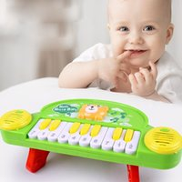 Wholesale Toy Electric Organ - Small Piano New Infant Intelligence Electric Musical Instrument Early Childhood Education Music Cartoon Animal Toys Electronic Piano Organ