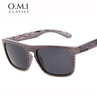 óculos de sol de marca china venda por atacado-Top Quality Óculos De Sol De Madeira De Imitação Polarizada Homens Do Vintage Skateboard China Óculos De Sol Da Marca Designer De Óculos De Sol Ferris gafas de sol