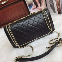 Wholesale Leather Messanger Bags - 2017 Ladies fashion messanger bag genuine leather,fashion handbag