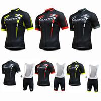 Wholesale Men Cycling Jersey Kuota - Multi Chooses NEW Customized 2017 KUOTA mtb road RACE Team Bike Cycling Jersey Sets Bib Shorts Clothing Breathable JIASHUO Ropa CICLISMO