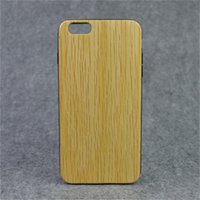Premium Soft TPU Holz Skins Cover White Eiche Muster Back Cover Cell Case für iPhone 6 plus mit Qualitätsgarantie