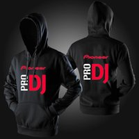 Wholesale Dj Jacket - Wholesale-DJ music hoodies man hoody unisex custom pioneer pro DJ hoodie men cotton winter sweatshirt jacket free shipping