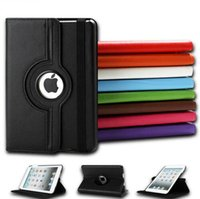 Wholesale Ipad Mini Girl - For ipad Mini 2 3 4 Case Girls Flip Leather Magnetic 360 Rotating Smart Cover Rotate Protective Case