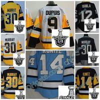 Wholesale Male Cup - Male 2017 Stanley Cup Finals Champions Patch Pittsburgh Penguins Matt Murray Pascal Dupuis Jarome Iginla Chris Kunitz Throwback CCM jerseys