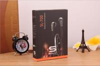 душевые наушники ludacris оптовых-SL-700 Наушники Soul Mini SL700 с лучшим рейтингом Динамические наушники-вкладыши Ludacris с микрофоном для iPhone Гарнитура Samsung S7 с пакетом