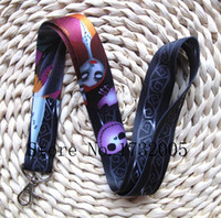 Wholesale Nightmare Before Christmas Wholesale - Wholesale Popular Nightmare Before Christmas Lanyards Keychain ID Badge Holder Mobile Phone Neck Straps N25
