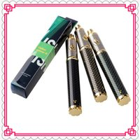 Wholesale New Carbon Fiber Battery - New Spinner 3 vision Carbon spinner III Carbon Fiber 3.3-4.8V 1650mAh ego Variable Voltage battery fit ego atomizers CC Tesla spider
