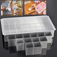 Wholesale Numbered Cake Tins - DIY Letters Numbers Rectangle Wedding Birthday Anniversary Baking Cake Tin Cake Pans Chocolate Mold Bakeware Kitchen Accessories