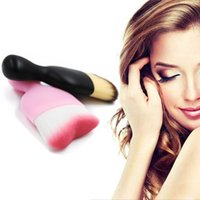 Wholesale Tailor S - 1pcs Makeup Brush Wholesale Pro Tailoring Curved Foundation Brush S Shaped Loose Powder Blusher Brush Multi-use Make Up beauty tool