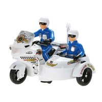 Wholesale Model Toy Police Lights - Model Toy Electric Police Motorcycle with Flashing LED Light Kids Children Music Toy Children Kid's Educational Toy