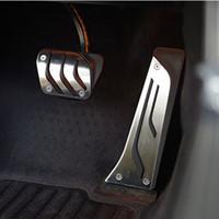 pédales de frein bmw achat en gros de-Pédale de frein de gaz de voiture d'acier inoxydable pour BMW 1 3 5 7 style X3 X5 Z4car style