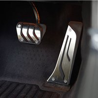 Wholesale Pedals Brake Gas - Stainless steel Car Gas Brake Pedal For BMW 1 3 5 7 Series X3 X5 Z4car styling