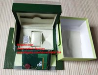 Wholesale Green Gift Cards - Free Shipping Green Brand Watch Original Box Papers Card Purse Gift Boxes Handbag 0.8KG For 116610 116660 116710 Swiss ETA 3135 3255 Watches