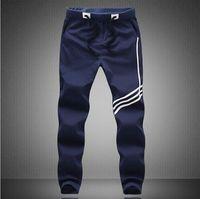 Wholesale Boys White Sweatpants - New Fashion Mens Casual Long Pants Casual Men Boys Loose Pants Male Sweatpants Plus Size M-5XL Free Shipping