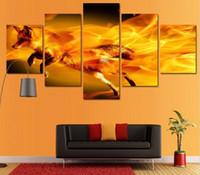 imgenes decorativas pared imgenes lienzo pintura caligrafa posters e impresiones pinturas por nmeros fuego fox