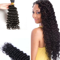 renk 32 saç örgüsü toptan satış-3 demetleri lot 8a Malezya saç örgü 8-30inch doğal renk işlenmemiş derin dalga insan saçı toplu uzatma hızlı teslimat